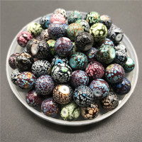 6 8 10mm Multicolor Glass Beads For Jewelry making DIY Earrings Bracelet Necklace #FFZ