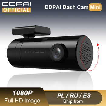DDPAI Dash Cam Mini 1080P HD Vehicle Drive Hidden Auto Video DVR Android Wifi Smart Connect Car Camera Recorder Parking Monitor