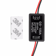 1pcs 12V Universal Durable Brake Flash Strobe Controller Flasher Module Box Waterproof for LED Stop Light Lamp