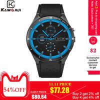 Kaimorui חכם שעון KW88 פרו אנדרואיד 7.0 OS Smartwatch 1GROA + 16 גרם תמיכת כרטיס ה-SIM GPS Bluetooth שעון חכם גברים עבור IOS