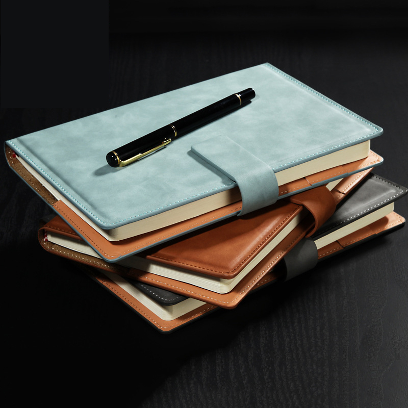 A5/B5 Agenda 2020 Weekly Planner Traveler Diary Luxury Business PU Leather Notebook Back To School Notepad Plan Organizer Books