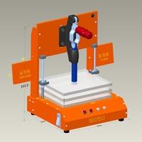 Quadro de teste universal pcb teste jig pcba ferramenta dispositivo elétrico teste baquelite fixação rack teste placa circuito impresso dispositivo elétrico