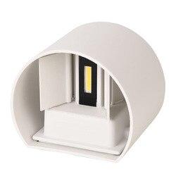 6W 12W LED kinkiet IP65 wodoodporna wewnątrz i na zewnątrz aluminium doprowadziły ściany światło do montażu na powierzchni kostki LED ogród ganek światła