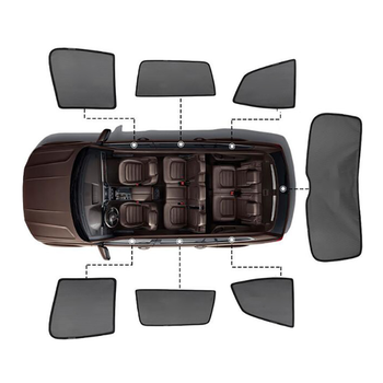 цена на For Nissan X Trail X-Trail t32 2014 2018 2020 Magnetic Car Sun shade Mesh Sunshade Side Window Sun Visor Sunscreen Insulation