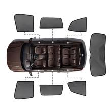 Dla Renault Koleos Kadjar akcesoria magnetyczne osłony przeciwsłoneczne do samochodu siatki osłona przeciwsłoneczna boczna szyba osłona przeciwsłoneczna ochrony przeciwsłonecznej 7 sztuk
