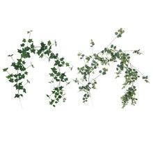 Xin ou grego 1.7 m eucalipto ivy rattan enrolamento decoração