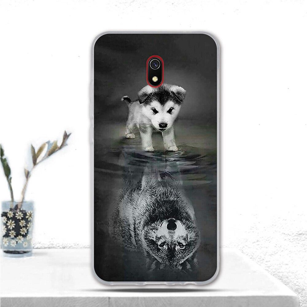 6.22 Inch For Xiaomi Redmi 8A Case Fundas Animal Cartoon Cat Pattern TPU Case Back Cover For Redmi 8A 8 A Phone Case Silicone