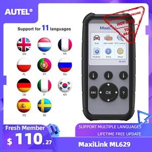 Image 1 - Autel ML629 Maxi Link Diagnose Werkzeug Auto OBD2 Scanner Code Reader ABS Airbag Code Reader Upgrade Autel ML619 AL619