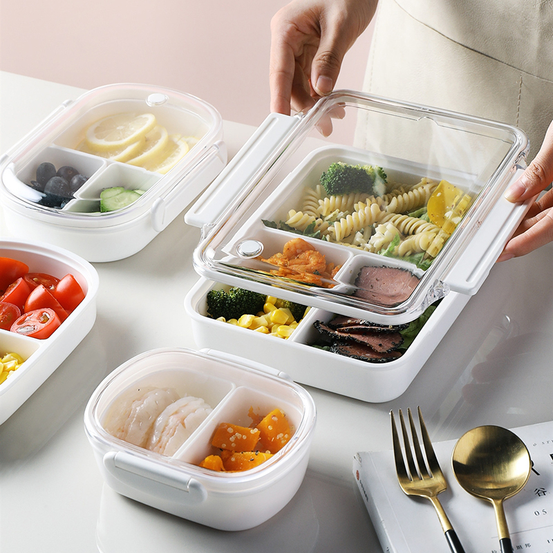 Multiple Specifications Lunch Box Multipurpose Microwave Oven Food Container Travel Hiking Office School Camping Kids Bento Box