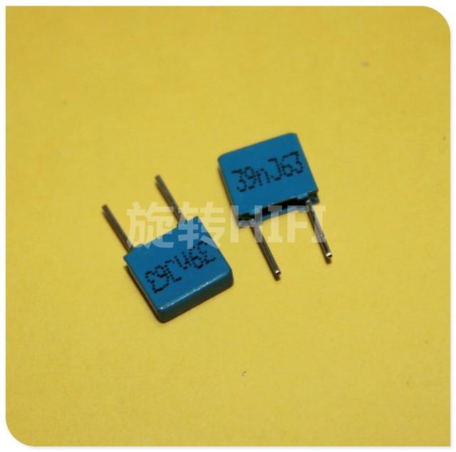 50PCS NEW EPCOS B32529C0393 39NF 63V PCM5 B32529 393/63V 0.039uf/63v p5mm 39NF 63VDC 63V39NF