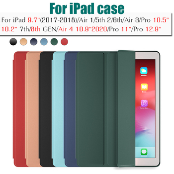 Case For Apple iPad 9.7 inch 2017 2018 A1822 A1823 A1893 Cover Flip Smart Tablet Cover Protective Fundas Stand Shell Cover
