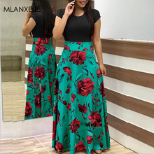 Fashion Long Sleeve Maxi Dress Women Autumn Robe Casual Plus Size Boho Dresses Female Vintage Bohemian Beach Floral Long Dress fashion long sleeve maxi dress women autumn robe casual plus size boho dresses female vintage bohemian beach floral long dress