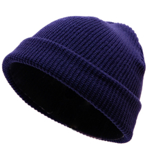 High Quality Ribbed Knitted Cuffed Short Melon Cap Beanie Hat Solid Color  Baggy Ski Fisherman Docker Hat Slouchy Unisex Winter flocking letter patch knitted slouchy beanie