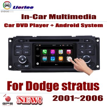 For Dodge Stratus 2001~2006 Car Android GPS Navigation DVD Player Radio Stereo AMP BT USB SD AUX WIFI HD Screen Multimedia