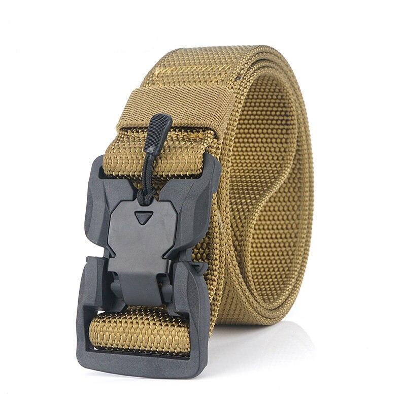 Военный инвентарь армейские тактические ремни для мужчин США армейский тренировочный нейлоновый пояс с металлической пряжкой пояс для охоты на открытом воздухе - Цвет: Khaki4
