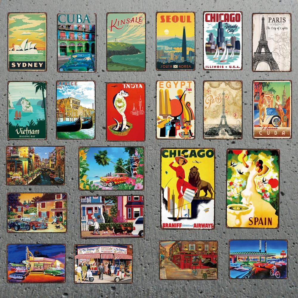BELGIUM BRUSSELS  TRAVEL METAL TIN SIGN POSTER WALL PLAQUE
