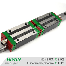 HIWIN HGH35 CNC Kit Linear Guide Rail 500 600 700 800 900mm HGR35 for Machine Center with High Precision Heavy Load Linear Rail
