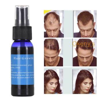 30ML naturalny wzrost włosów esencja męskie skuteczne płyn do wzrostu włosów do włosów dla kobiet opieki zdrowotnej przeciw wypadaniu włosów esencja naprawy oleju tanie i dobre opinie 1pcs Hair Nourishing Essence