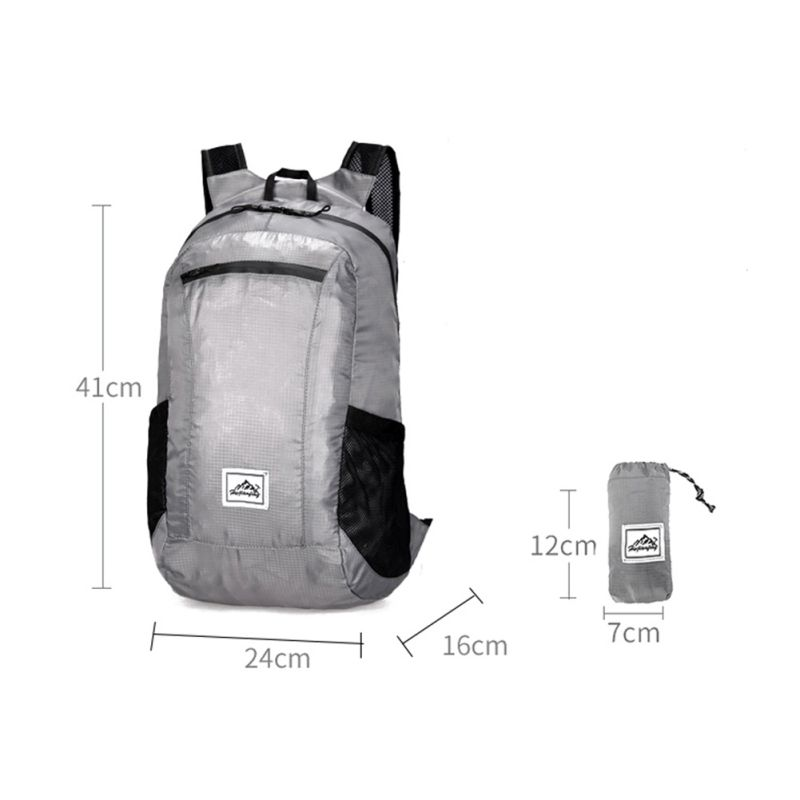 Ultra Light Waterproof Travel Mountaineering Protable Bag Men Women Fashion Foldable Backpack Outdoor Camping Riding Backpack