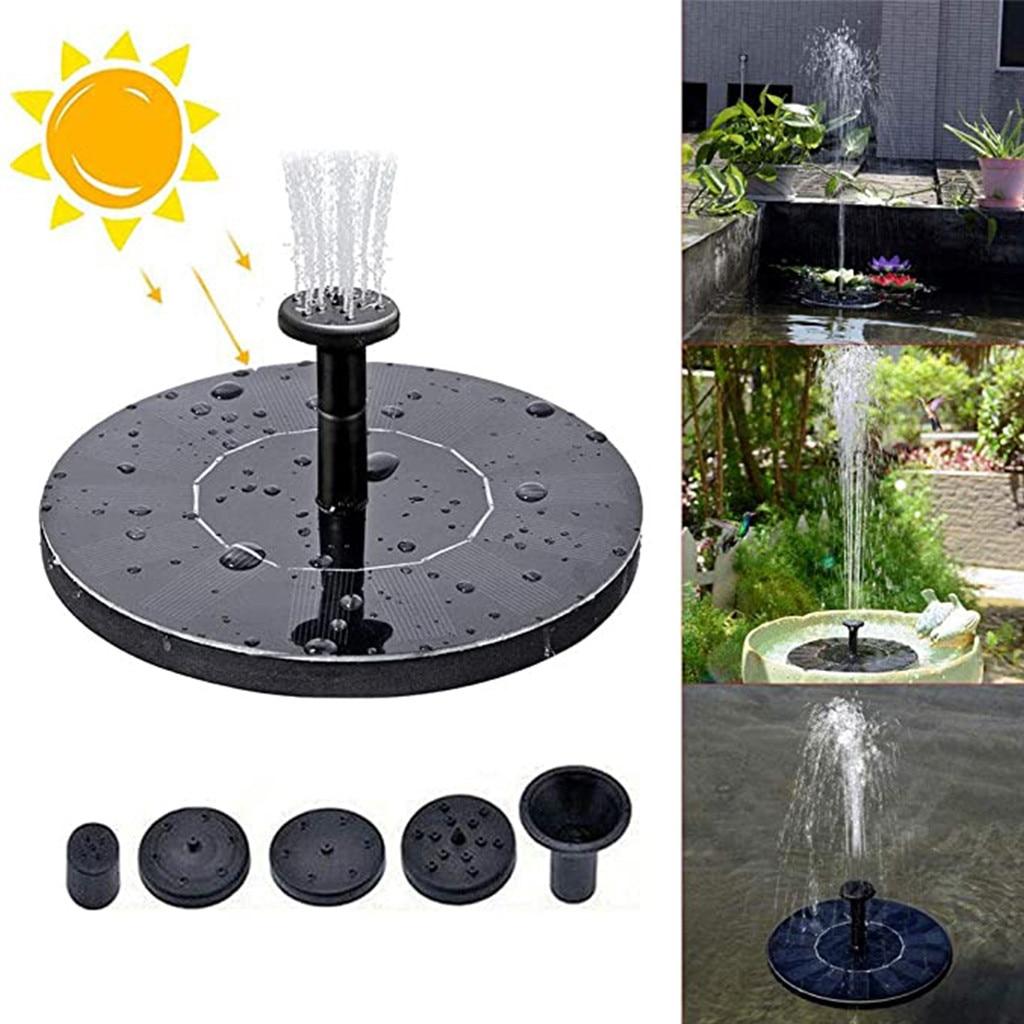 2021top солнечный насос, 1 Вт свободно стоячие плавающие солнечные водяные насосы для ванной с птицами для сада, товары для дома