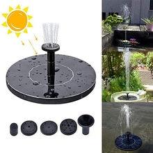2021top aprimorar a bomba solar da decoração, 1w de flutuação ereta livre bombas de água solares do banho do pássaro para o jardim