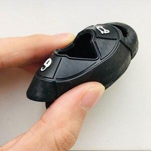 Image 4 - Weiche Silikon Schlüssel Fall Fob Abdeckung Für Mini Cooper S R50 R53 Carbon Faser Muster Accesorios Para Auto Auto Schlüssel abdeckungen