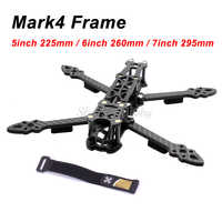 """Mark4 Mark 5inch 225mm/6 inch 260mm/7 inch 295mm mit 5mm Arm quadcopter Rahmen 5 """"6"""" 7 """"FPV Freestyle RC Racing Drone"""