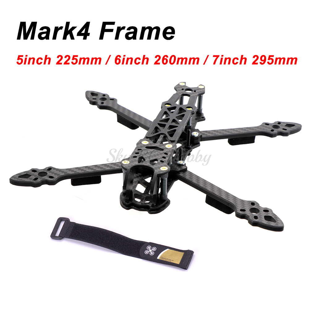 Mark4 Mark 5inch 225mm / 6inch 260mm / 7inch 295mm With 5mm Arm Quadcopter Frame 5