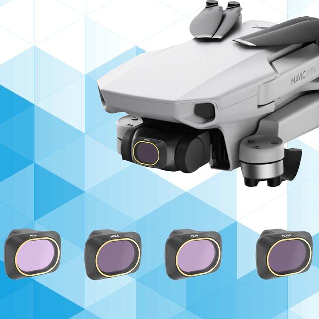 Drone Filter For DJI Mavic Mini UV ND4/ND8/ND16/ND32 Neutral Density Filters Polar For Mavic Mini Camera Accessories