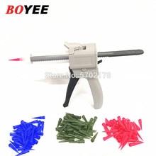 30ml Glue Gun Manual Caulking Gun UV Glue Applicator 30 CC Syringes Barrel 300pcs Tapered Dispensing needle Tips Se