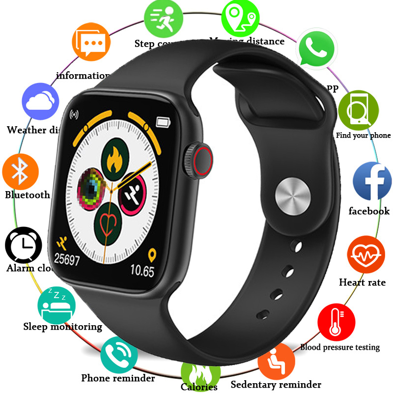 Smart Watch Men Blood Pressure Full Touch Screen Smartwatch Women Fitness Tracker Waterproof Clock Watch Smart For Android IOS