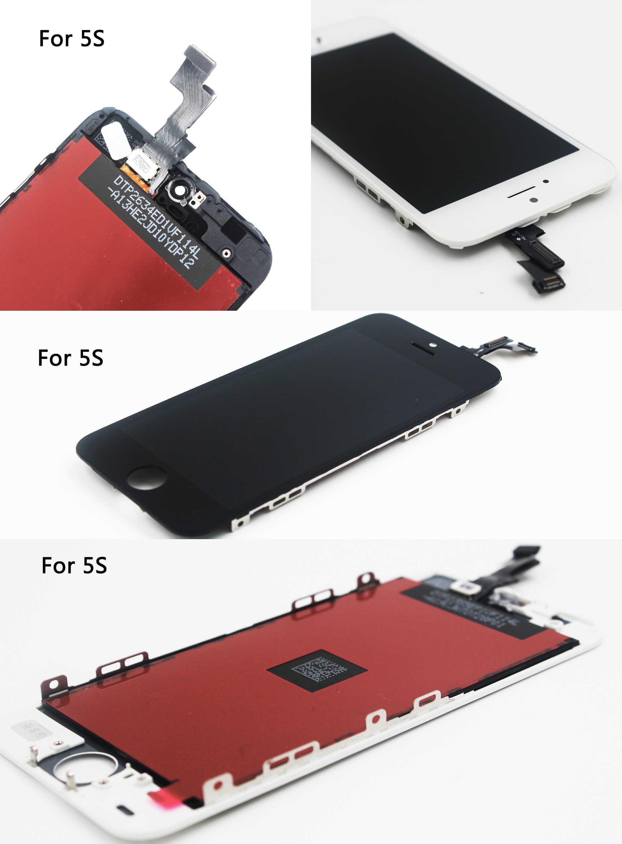 โรงงานขาย LCD สำหรับ iphone 6 จอแสดงผล lcd สำหรับ iphone 5 5c 5s หน้าจอ Lcd Touch Digitizer Assembly Replacement