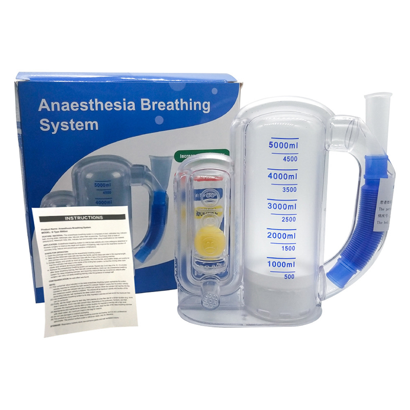 Three-ball Breathing Trainer/Deep Breathing Lung Exerciser 3