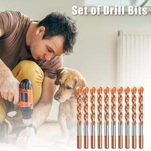 10/5/4pcs Drill Bit Set Triang