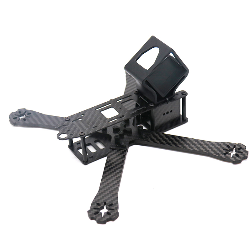 Image 3 - TCMMRC FPV Frame Boat X Wheelbase 220mm 250mm 4mm Arm Carbon Fiber For FPV Racing Drone Frame Parts-in Parts & Accessories from Toys & Hobbies