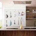 52 шт. крючков для Pegboard  набор крючков для хранения дома  система  набор вешалок для инструментов  для гаража  кухни  мастерской  органайзер  ут...