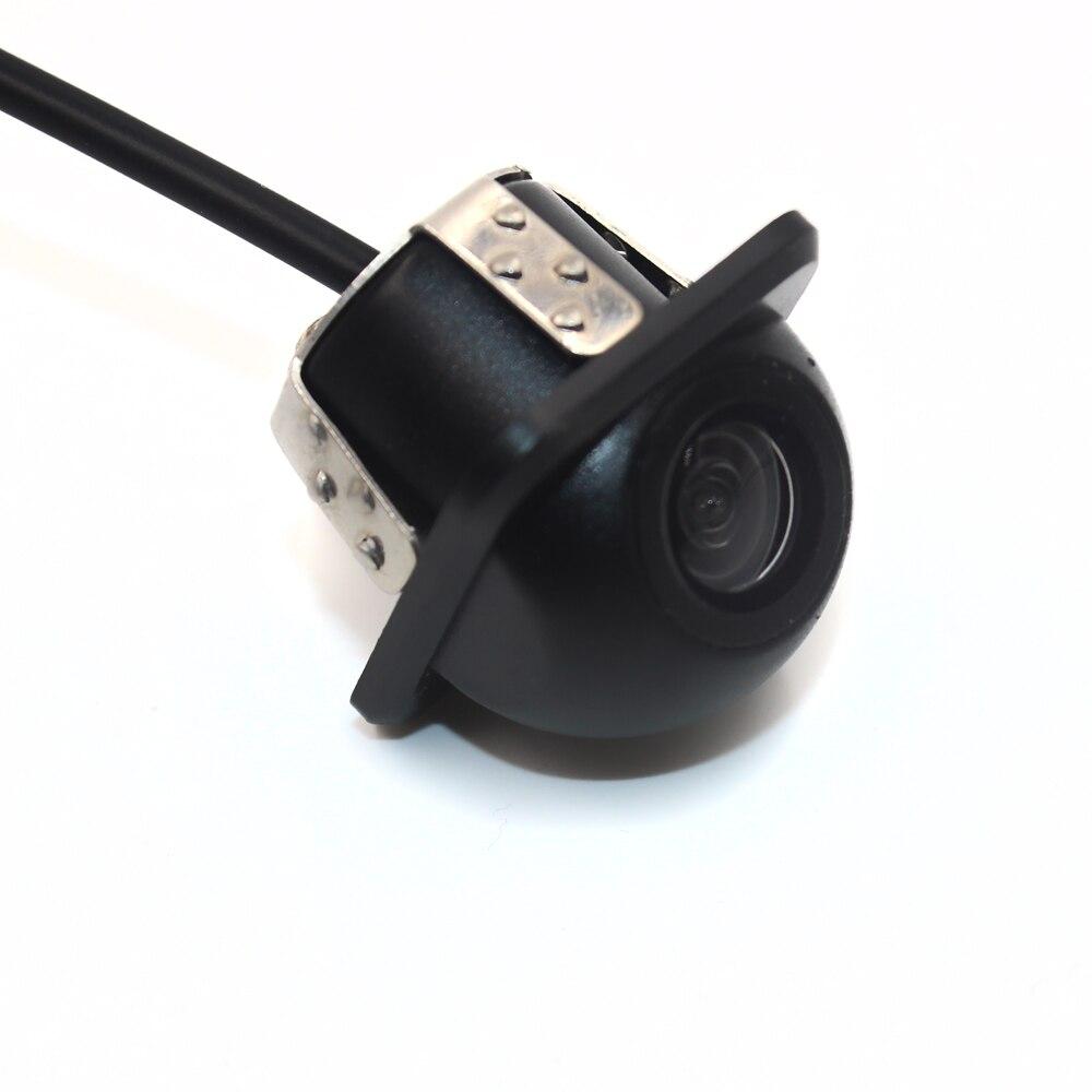 BYNCG HD CCD камера заднего вида с ночным видением, 140 угол обзора, Автомобильная камера заднего вида IP67 DC 12 В/24 В, Автомобильная камера для VW Ford Toyota и многое другое - Название цвета: Оранжевый