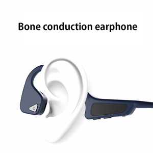 Image 2 - High Quality Bone Conduction Headset Wireless Bluetooth 5.0 Wireless Headphones sport Waterproof bluetooth wireless earphones