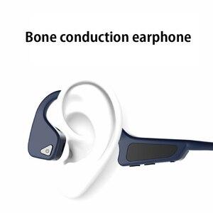Image 2 - Hohe Qualität Knochen Leitung Headset Drahtlose Bluetooth 5,0 Drahtlose Kopfhörer sport Wasserdichte bluetooth wireless kopfhörer