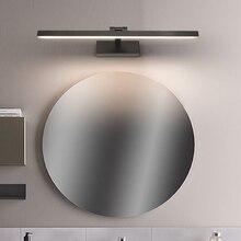 โมเดิร์นไฟ LED กระจกห้องน้ำ Vanity Wall Light ติดตั้งอุตสาหกรรมตู้ห้องนอนโคมไฟข้างเตียงแต่งหน้าโคมไฟติดตั้งไฟ