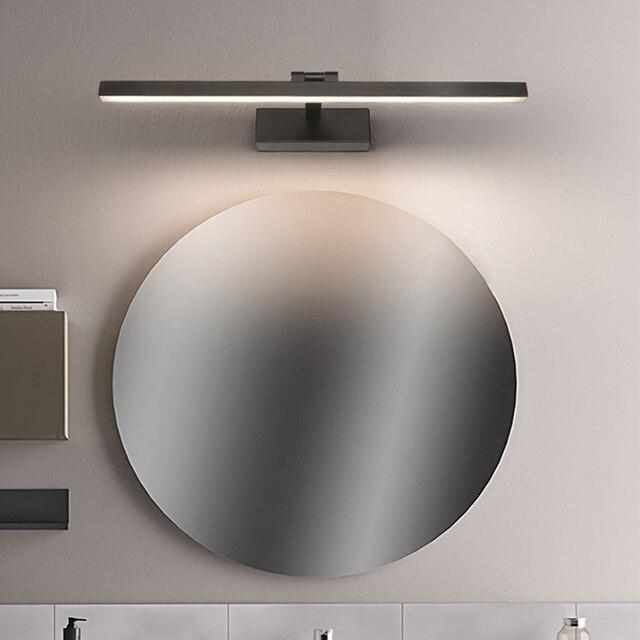 Moderno led banheiro vaidade espelho de parede luz montado armário industrial quarto lâmpada cabeceira maquiagem lâmpada parede luminárias