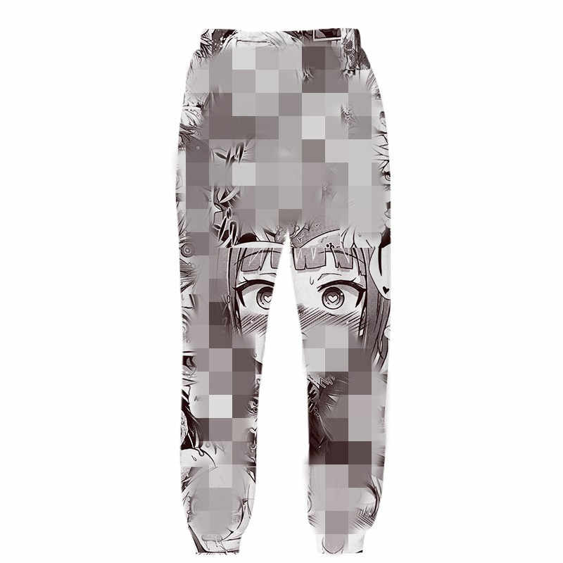 Sudadera con capucha Ahegao 3D para hombre y mujer, ropa de calle de anime Harajuku oversize