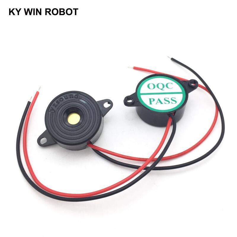 DC3-24V Piezo Electronic Active Buzzer Alarm 20-B High Decibel Continuous Sound Beeper 2312 For Arduino Kit