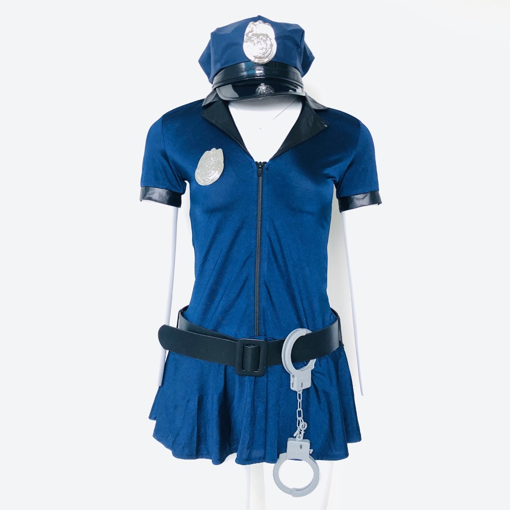 Utmeon <font><b>Sexy</b></font> <font><b>Halloween</b></font> Costumes For Women <font><b>Sexy</b></font> <font><b>Cosplay</b></font> Hottie Police <font><b>Sexy</b></font> Costume Plus Size image