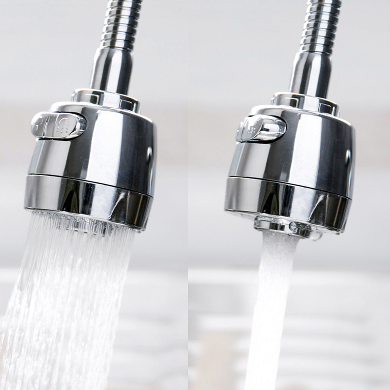 New 360 Degree Aerator Water Device Swivel Head Saving Faucet Kitchen Aerator Diffuser Connector Nozzle Filter Mesh Adapter
