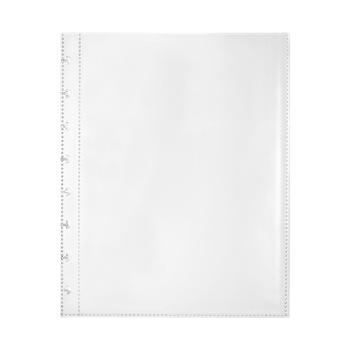 A4 25 strona torba broszura z otworem na grzyby Folder do interaktywnej instrukcji przezroczyste materiały PP akcesoria do folderów tanie i dobre opinie CN (pochodzenie) Perforowane kieszeni 25 PAGES BAG