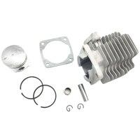 2 hub 49Cc 40mm Zylinderkopf Kolben Kit Mini Tasche Motorrad MTA1 MTA2 M CK02-in Kolben  Ringe  Stäbe & Teile aus Kraftfahrzeuge und Motorräder bei