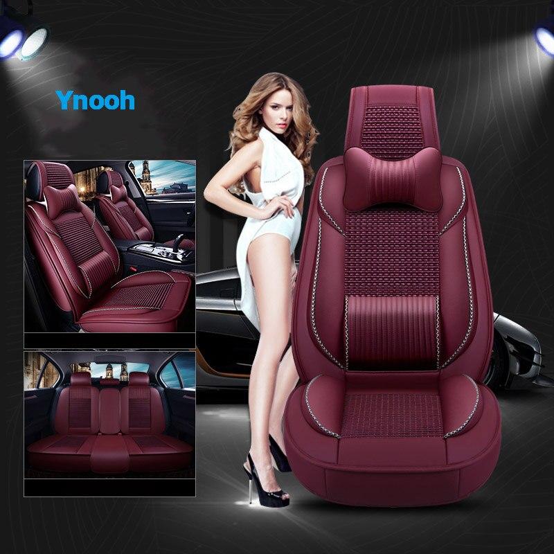 Ynooh housses de siège de voiture pour skoda fabia 1 2 rapid spaceback kodiaq felicia octavia protecteur de siège de voiture