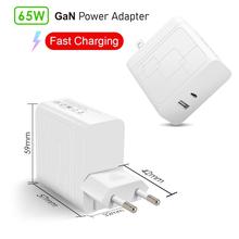 65w carregador gan carga rápida 4.0 3.0 tipo c pd usb carregador com qc 4.0 3.0 carregador rápido portátil para o telefone portátil
