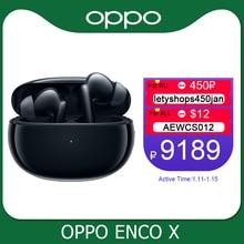 Oppo kod X gerçek kablosuz kulaklık TWS 3 Mic gürültü iptal kulaklık Bluetooth 5.2 kulakiçi Reno 5 Pro 4 SE bulmak X2 Pro